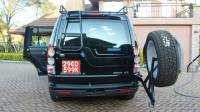 Land Rover LR4 Tire Carrier  Voyager Racks
