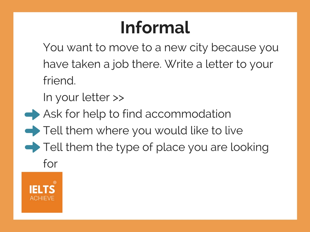 General Training Writing Task 1 Letter Example 1 - Moving to a new