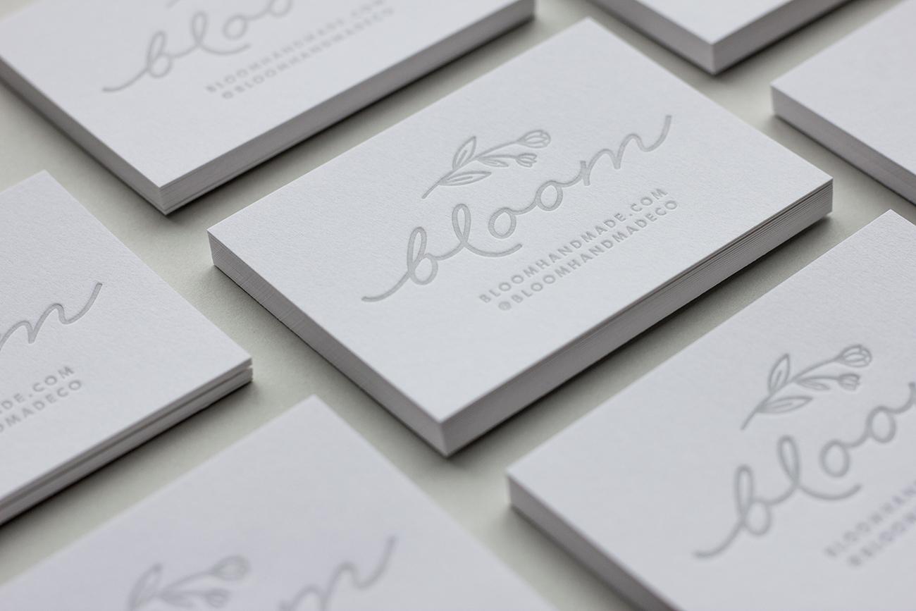 Dick  Jane - letterpress business card