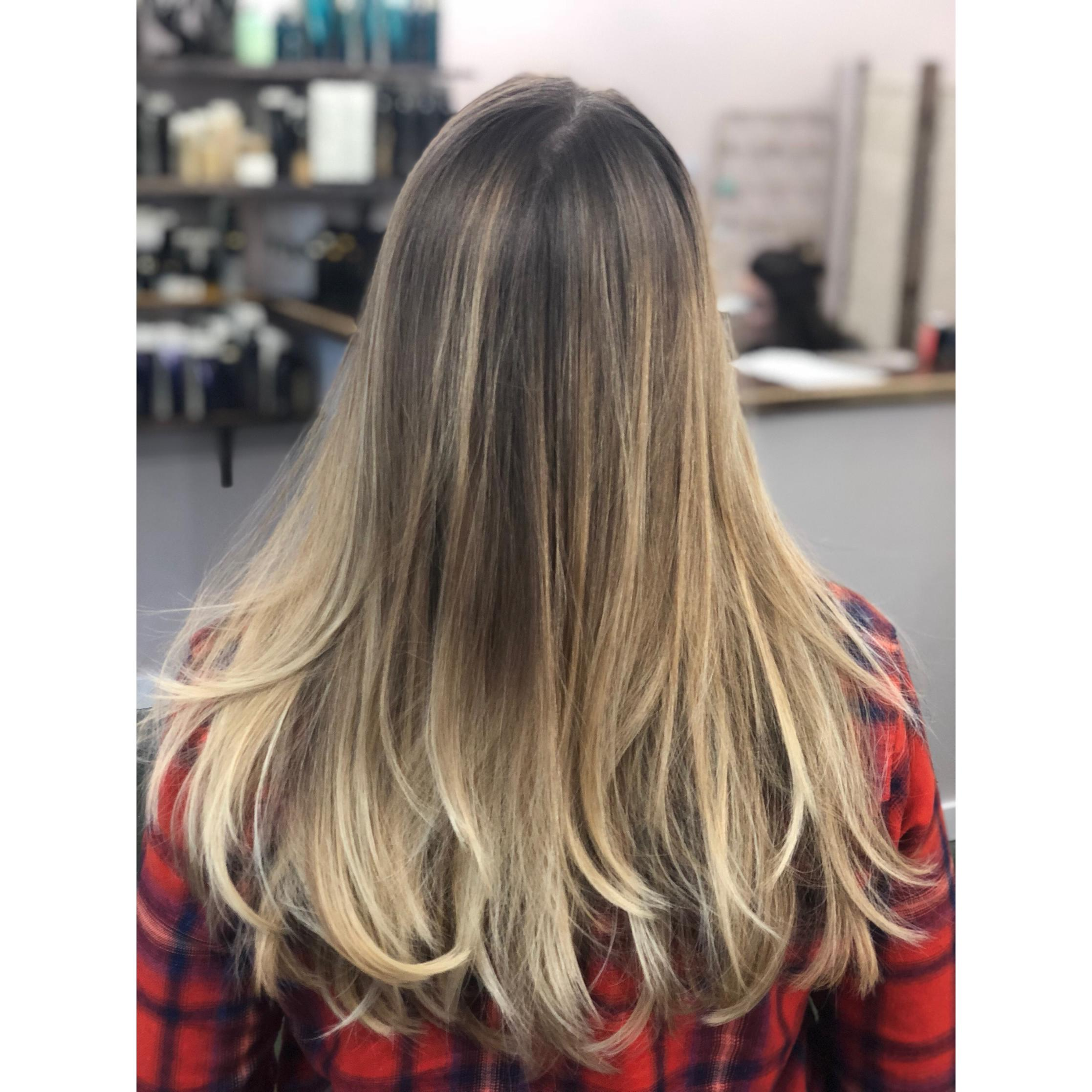 Ombre Look A Guide To Balayage Ombré Foils Freebird Beauty Shop