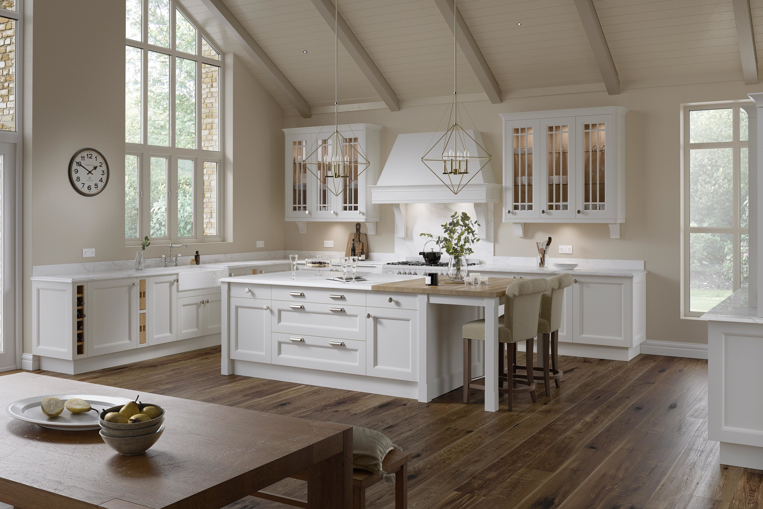 Classical Kitchens Classic Traditional Kitchens Suit All Budgets House Kitchens