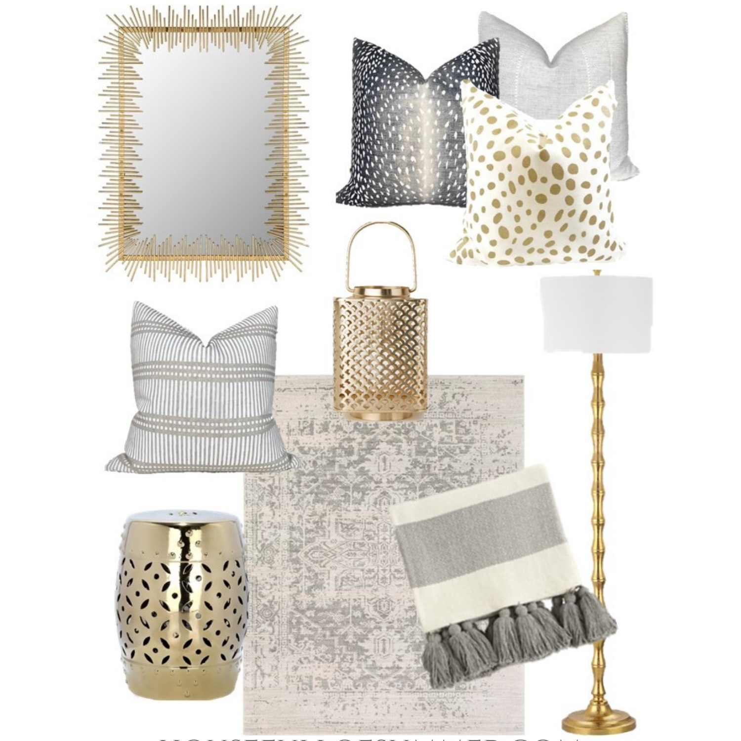 Decor Plus Mood Board Gray Gold Decor Plus How To Easily Make A Space