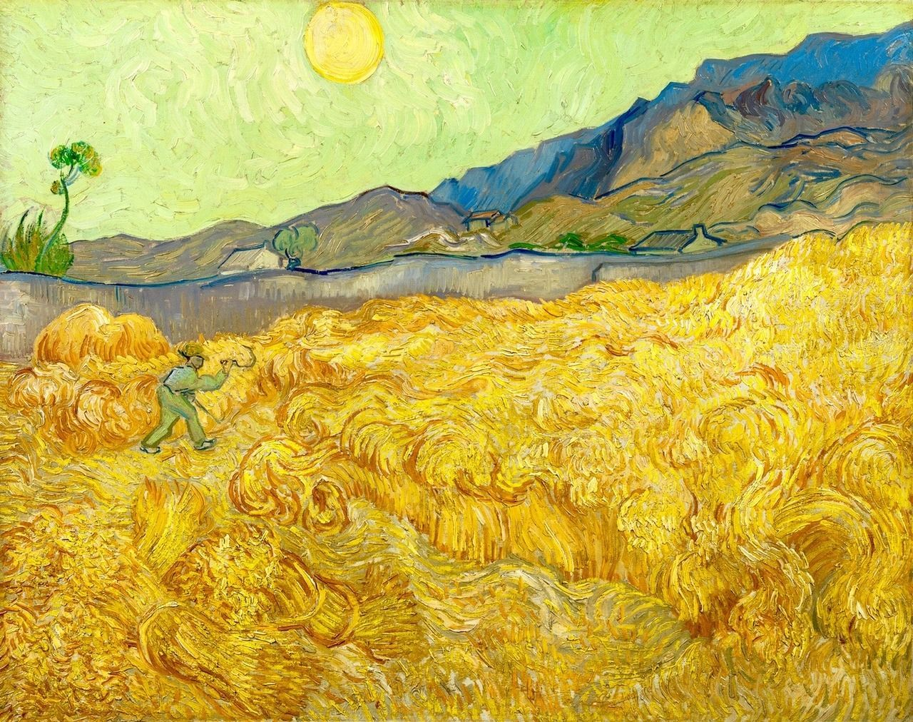 Bright Colours Painting New Data Shows Why Van Gogh Changed His Color Palette Artnome
