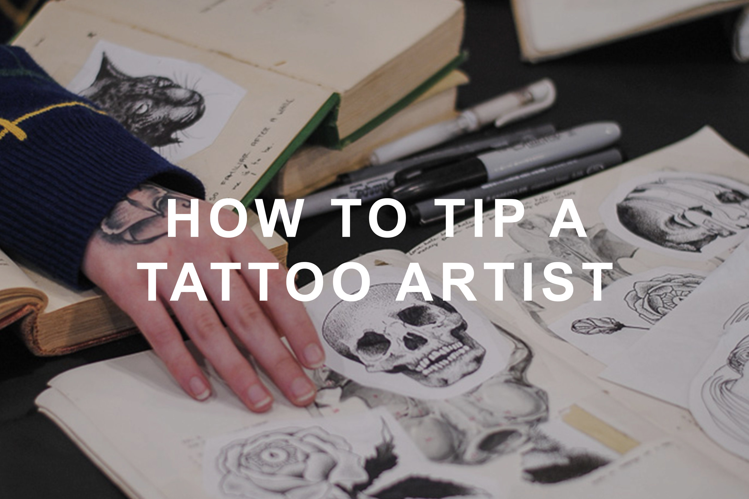 Calligraphy Tattoo Artist Toronto How To Tip A Tattoo Artist Picktheink