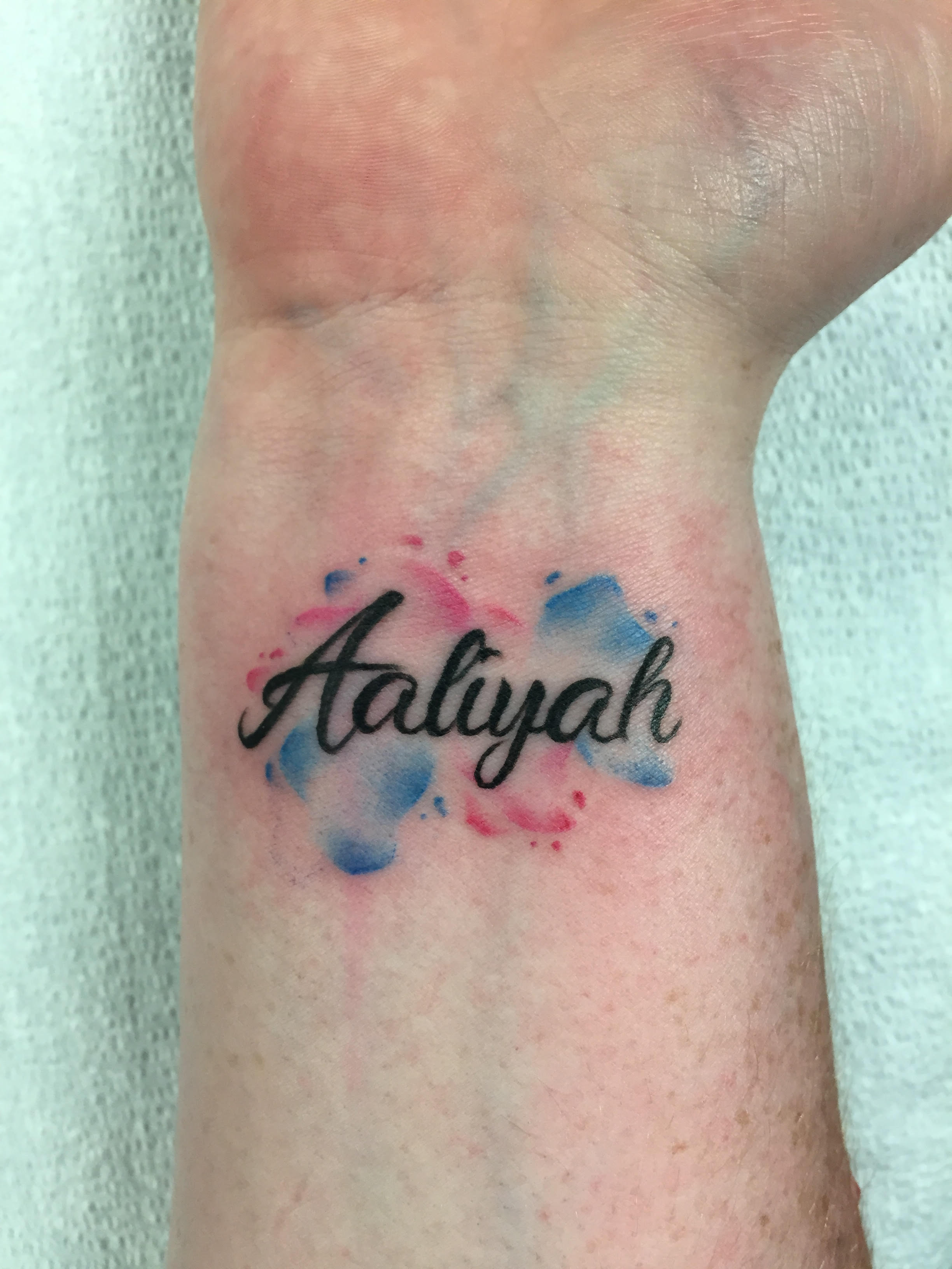 Calligraphy Tattoo Artist Toronto Alveno Get A Watercolour Tattoo In Toronto Picktheink