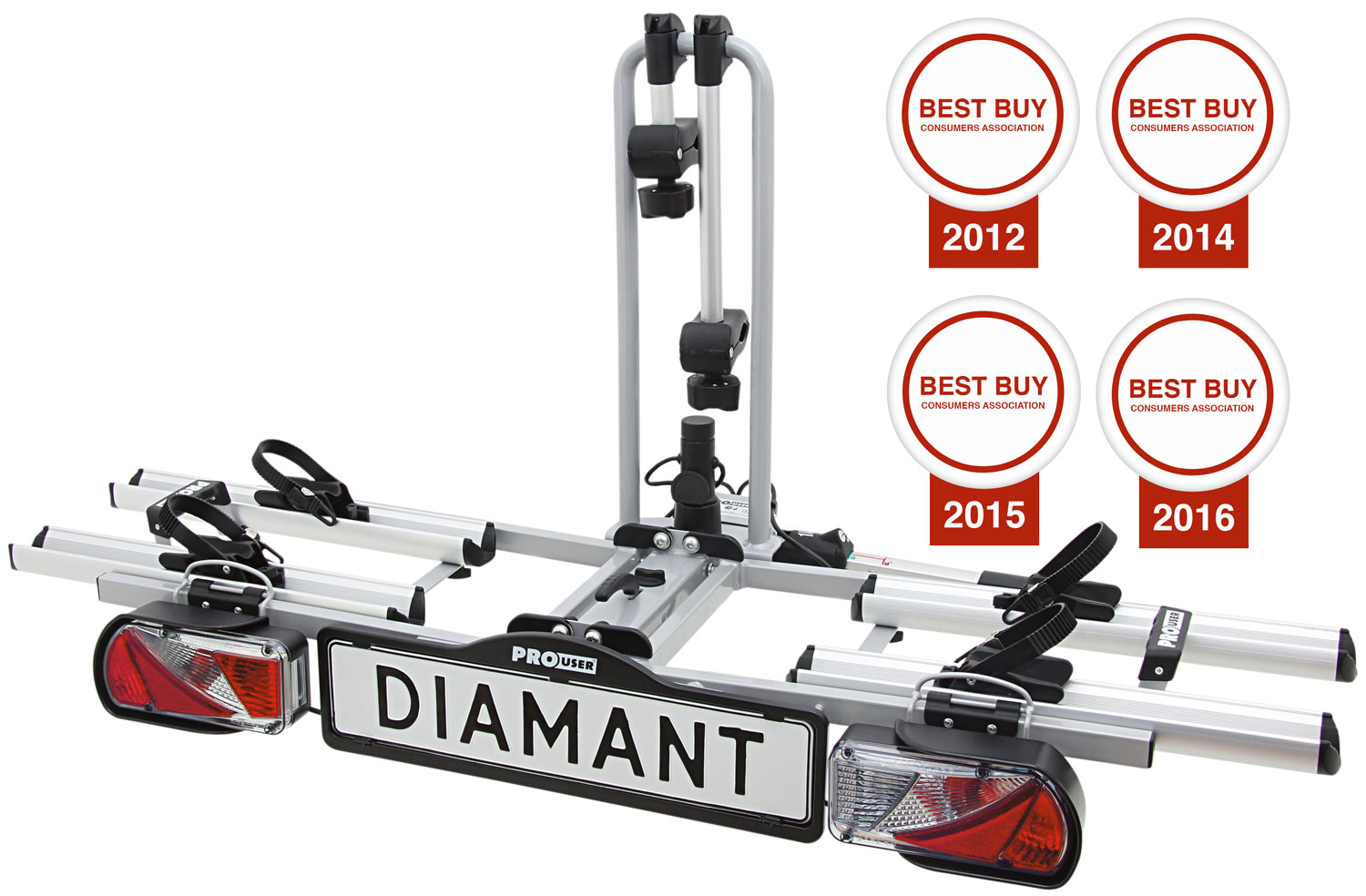 Pro User Prouser Diamant Two Bike Rack