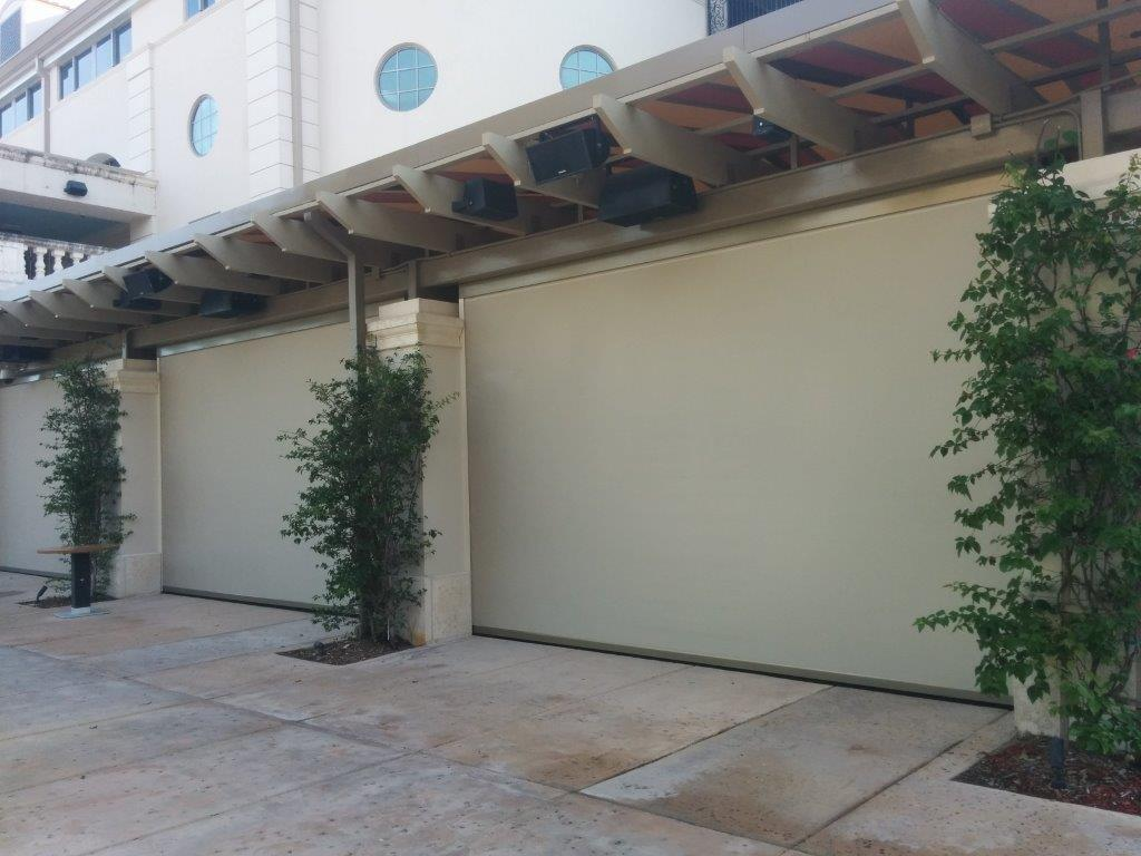 Garage Door Screen That Rolls Up Retractable Roll Up Screens Industrial Door Solution Fire Rated