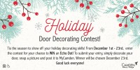 Office Holiday Door Decorating Contest Rules   Decoration ...
