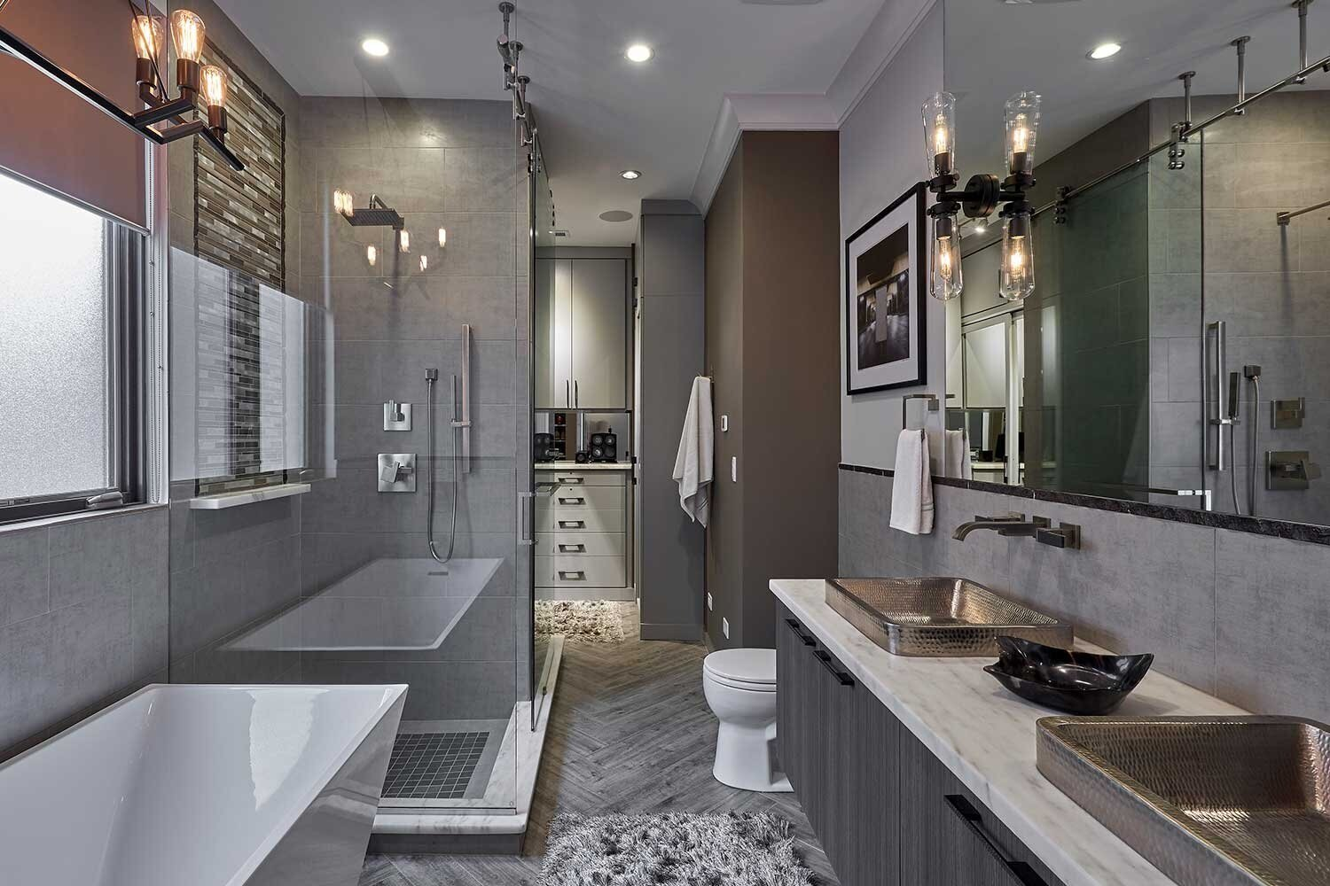 Bathroom Home Interior Design Mood Chicago Interior Design Build Firm