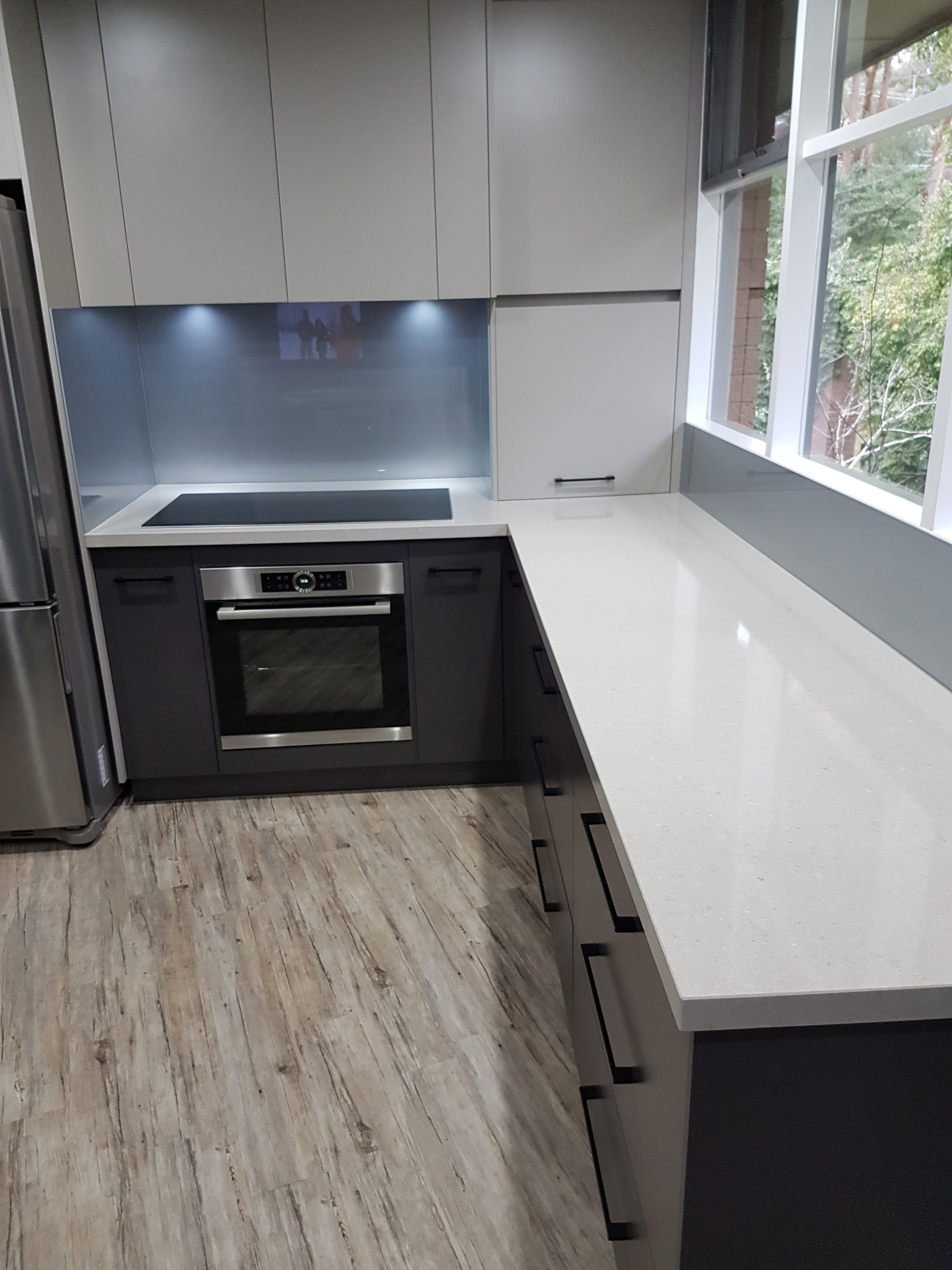 Grey Benchtop Kitchen Gallery Bespoke Benchtops