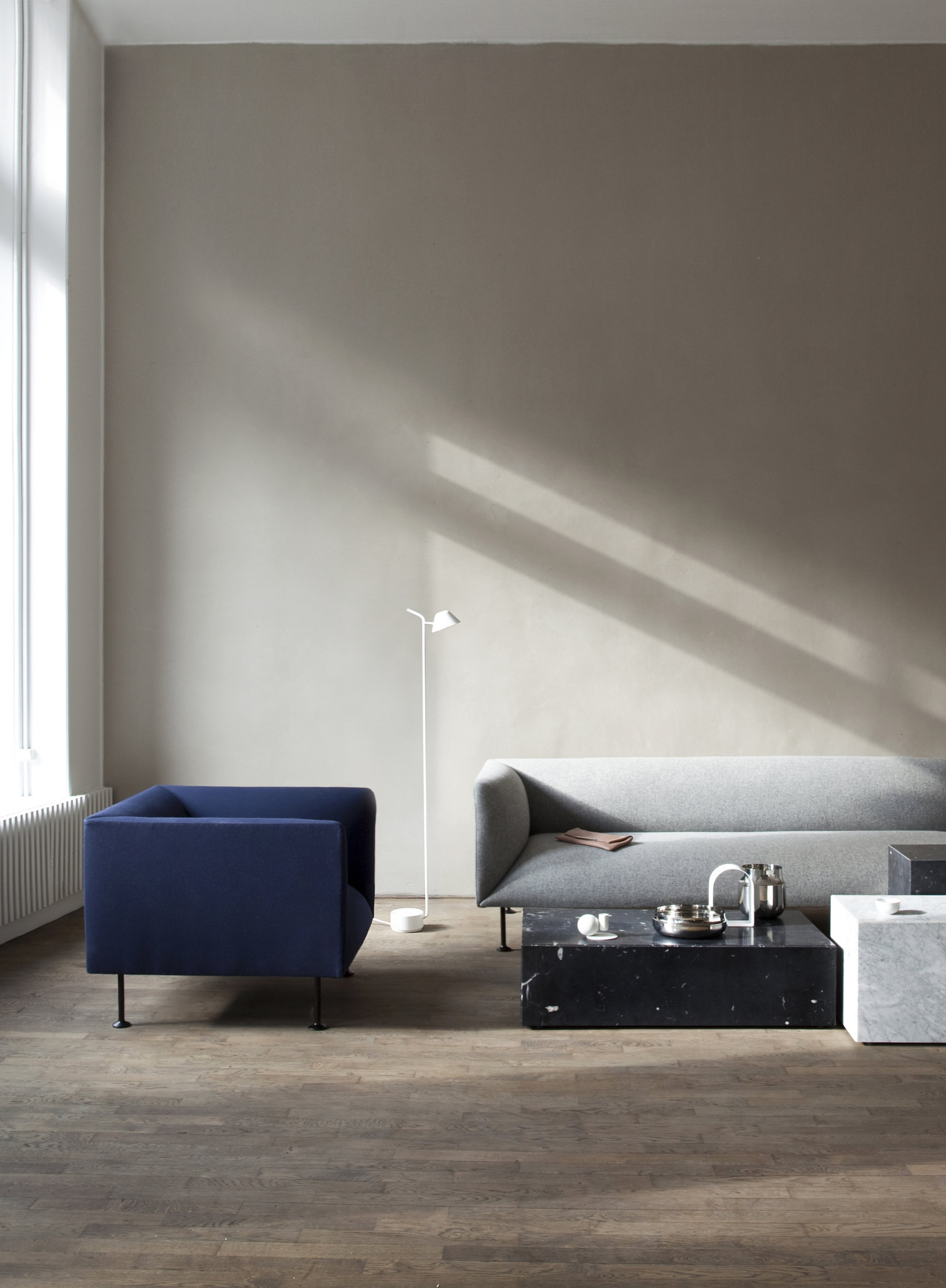 Sofa Berlin Design 3 Seater Sofa By Iskos Berlin Pale Grey Design Cove