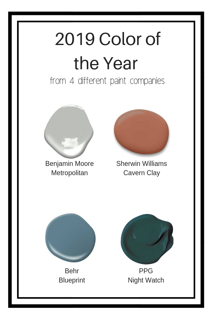 Metropolitan Benjamin Moore Jrl Interiors 2019 Color Of The Year And The Winner Is