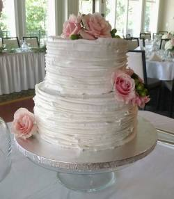 Corner Purple Two Tier Wedding Cakes S Small Two Tier Wedding Cakes Buggy Whip Bakery Two Tier Wedding Cake