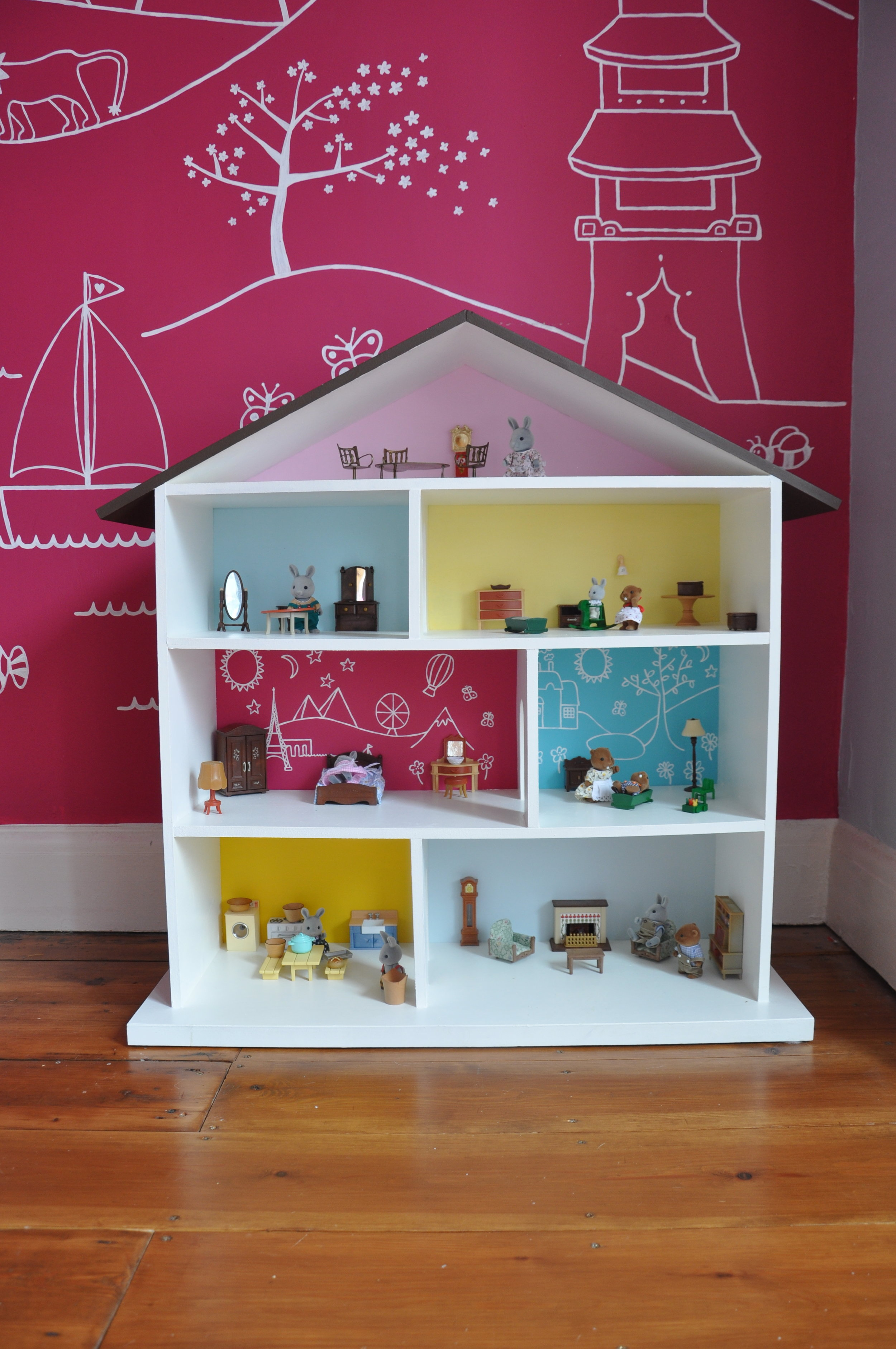 Toddler Dollhouse How To Make A Diy Dollhouse For A Toddler Simply The Nest