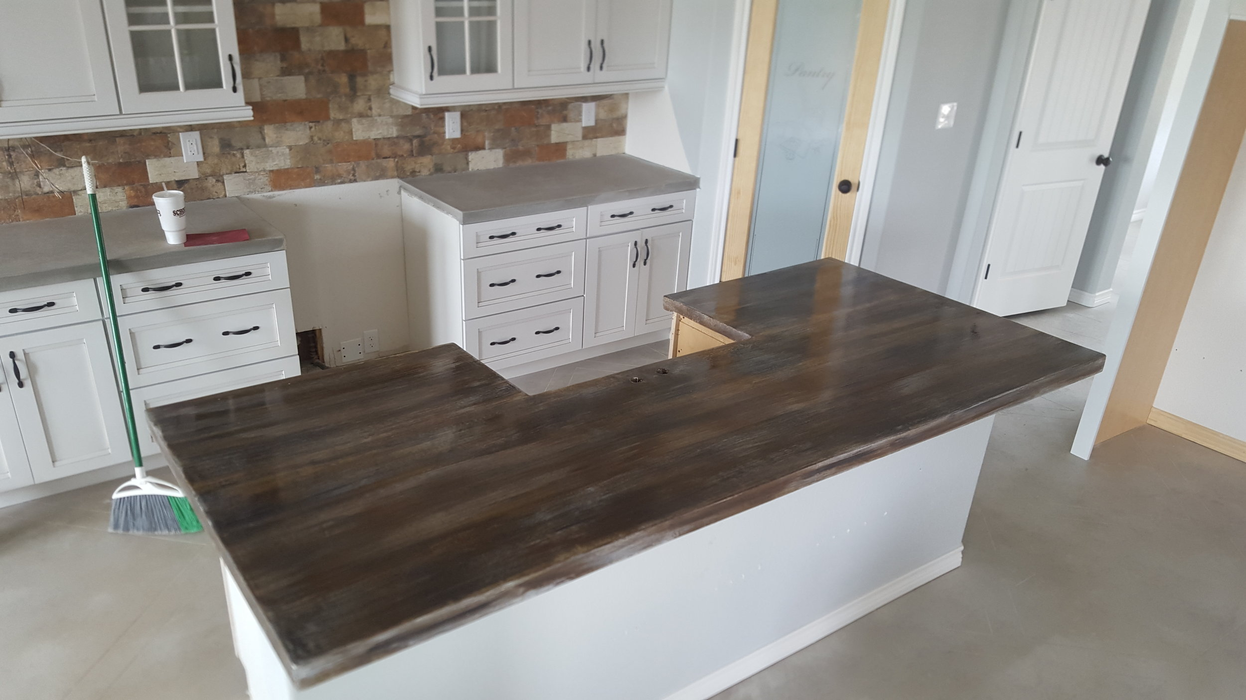 Concrete Countertops Pricing Concrete Countertops Stain And Stamp