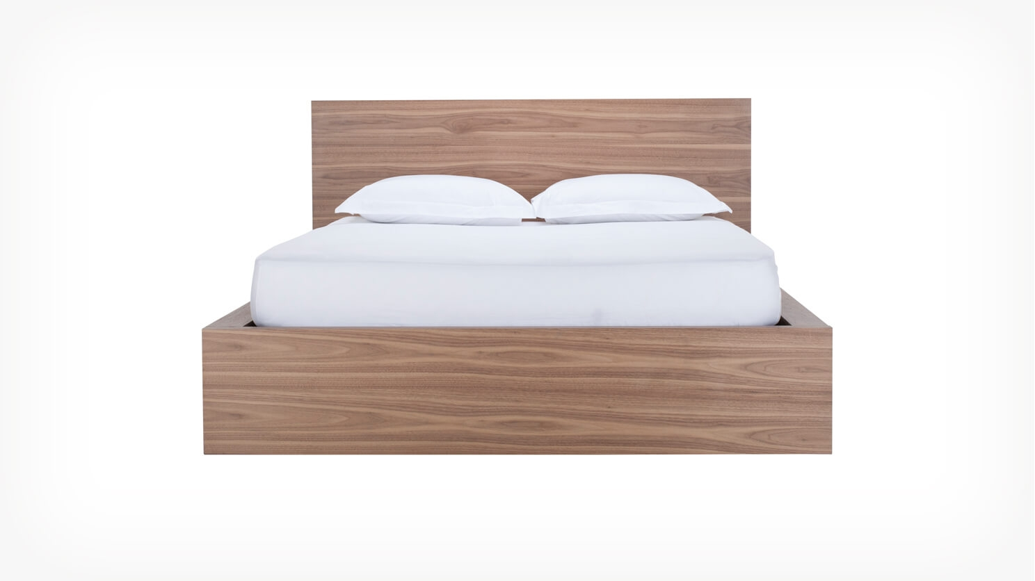 Simple Bed Simple Bed With Panel Headboard Eq3
