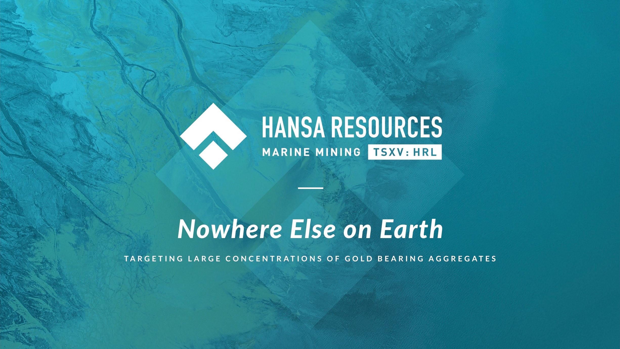 Hansa Resources Limited Investor Presentation \u2014 HANSA RESOURCES