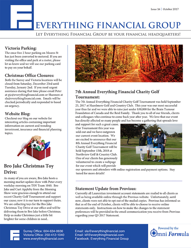 Office Newsletter newsletter archive everything financial group - office newsletter