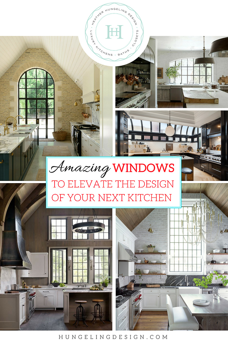 Large Kitchen Window Design Ideas Heather Hungeling Design