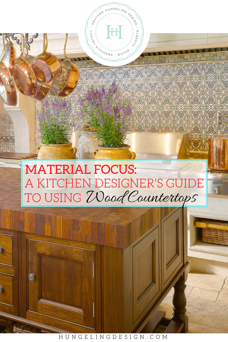 Wood Countertops Everything You Need To Know Heather Hungeling Design