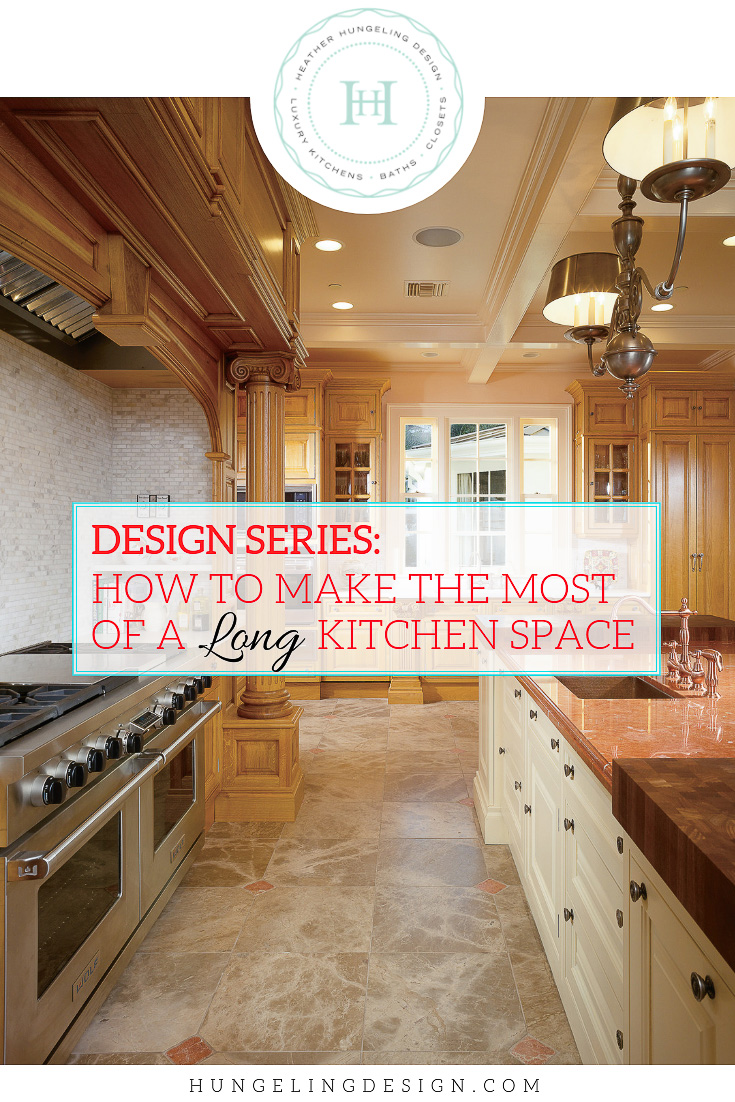Long Kitchen Design Pictures How To Make The Most Of A Long Kitchen Heather Hungeling Design