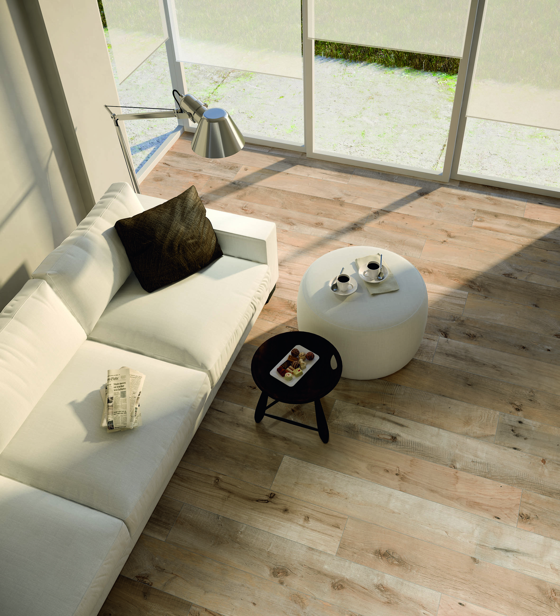 Outdoor Timber Tiles Timber Tiles Vs Timber Flooring Italia Ceramics