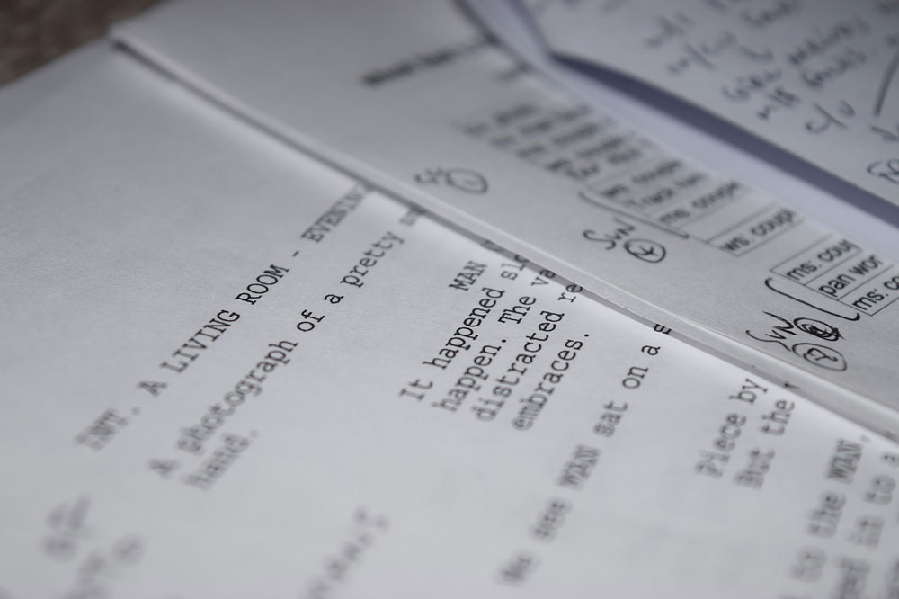 Script Writing \u2014 Telegael