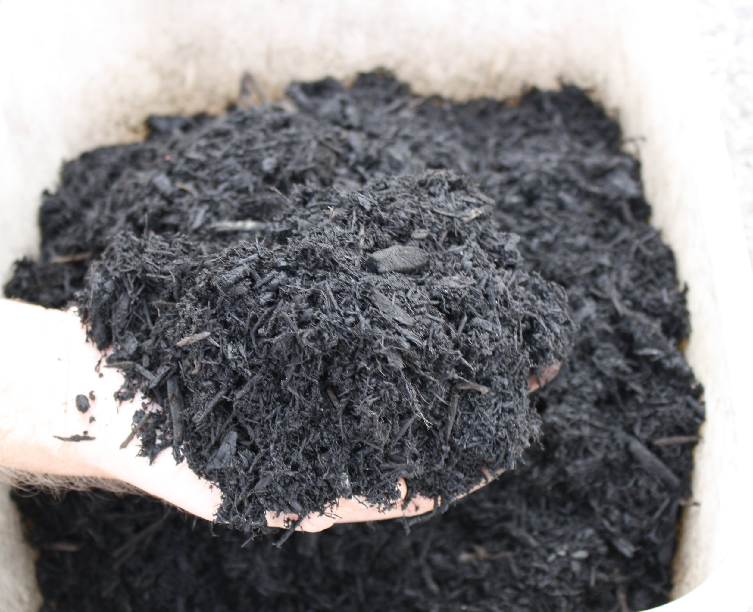 Black Bark Mulch Black Beauty Bark Mulch Weaver Mulch