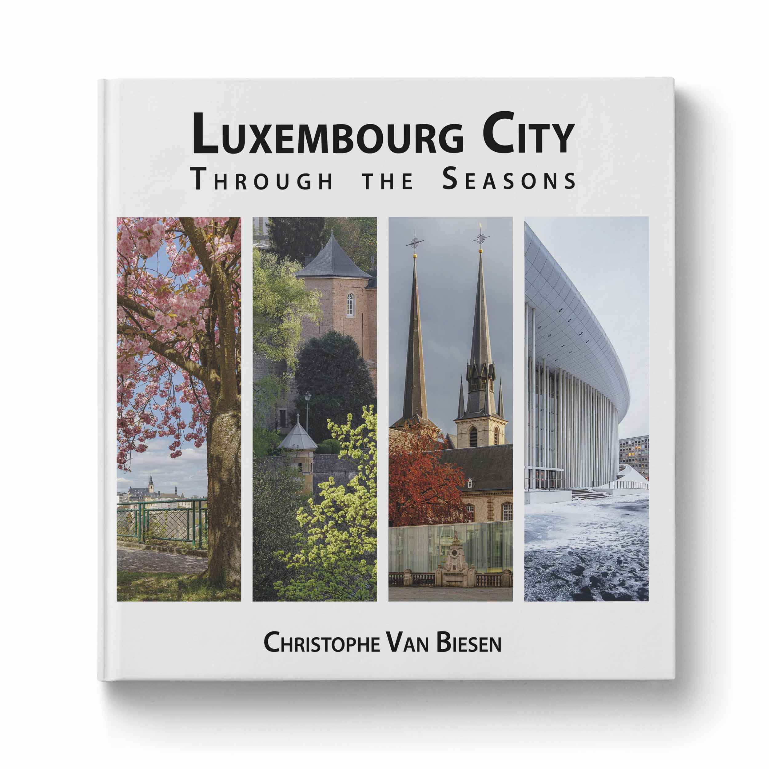Table Luxembourg Luxembourg City Through The Seasons Coffee Table Book