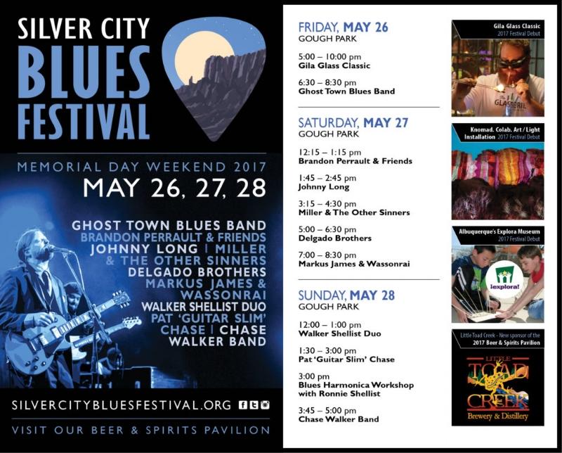 2017 Souvenir Program \u2014 Silver City Blues Festival - Event Program