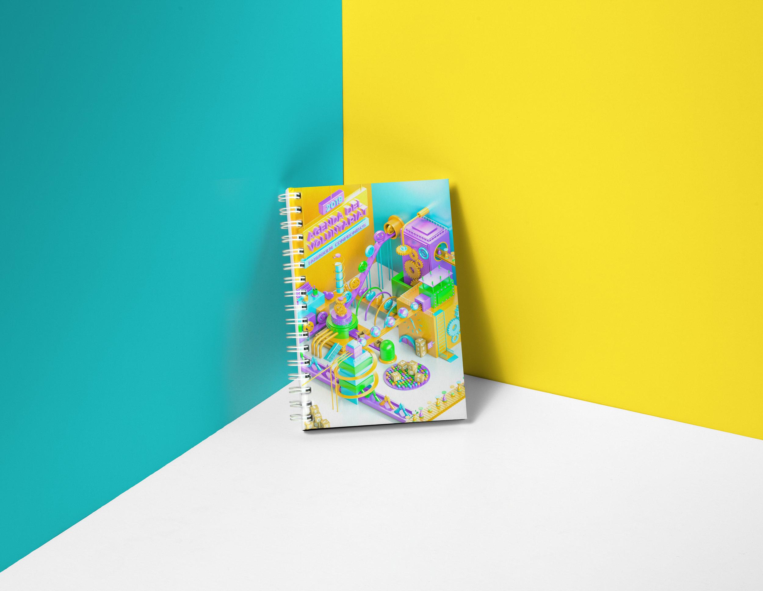 Hitabarity 3D - Freelance 3D Designer \u2014 2019 Volunteering Diary - 3D