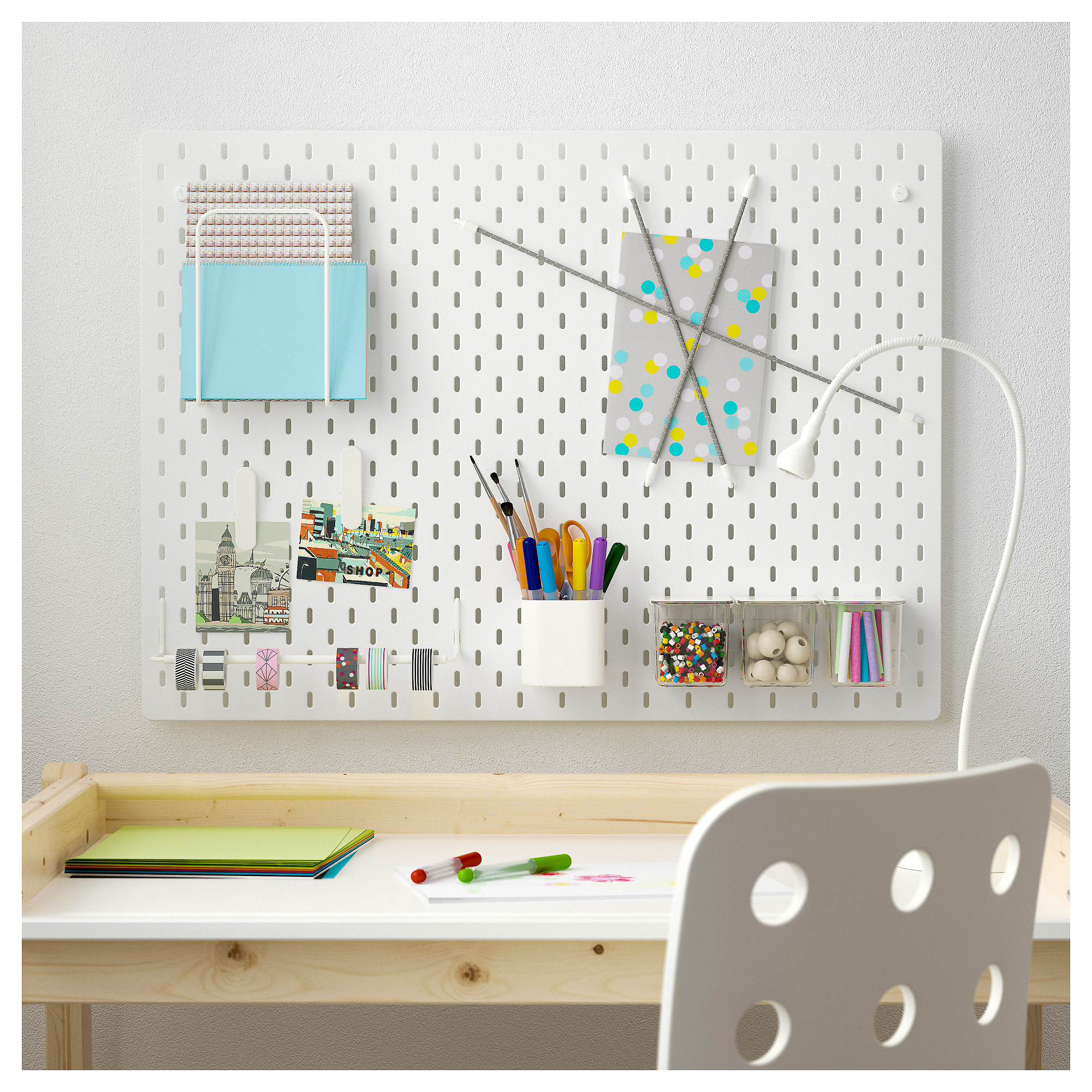 Ikea Com Desk The Best Way To Organize Your Child S Desk Thriftymama