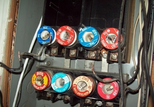 Antique Fuse Box With Fuses Wiring Diagram