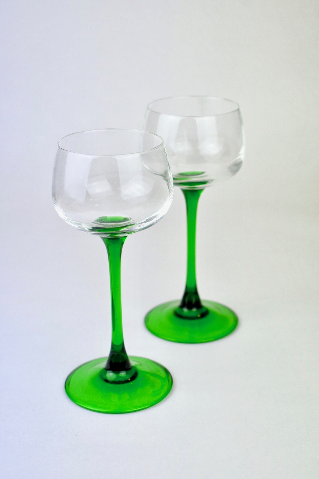Luminarc Glass 1970s Luminarc Alsace Wine Glass