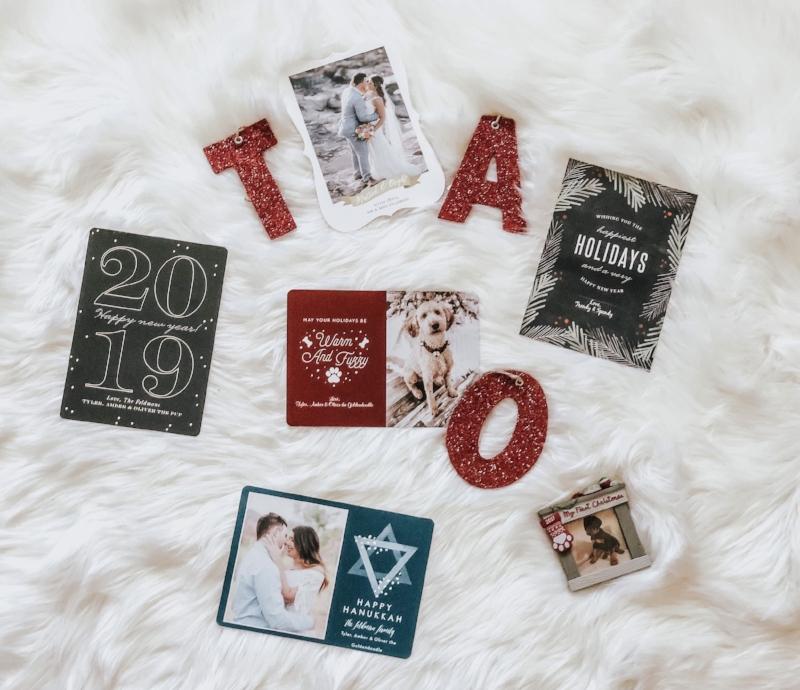 Basic Invite Foil Holiday Cards \u2014 Trendy  Spendy