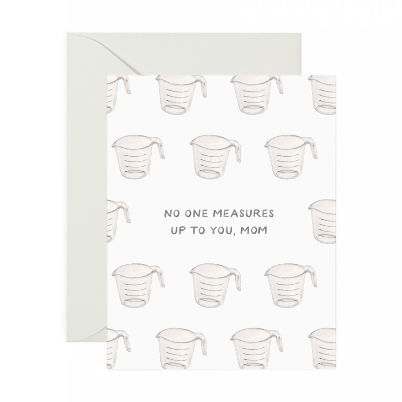 No One Measures Up Mother\u0027s Day Card \u2014 amy zhang creative