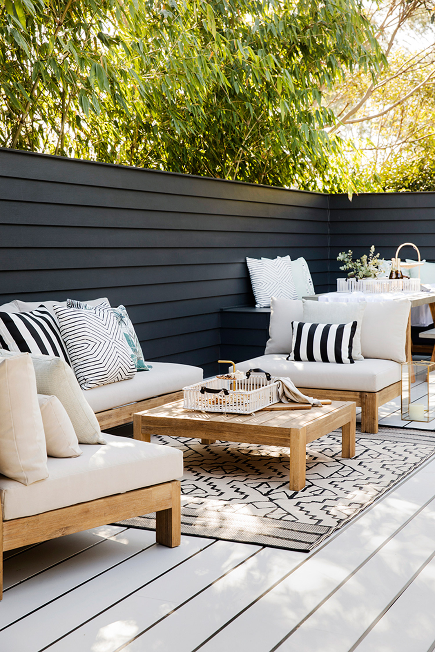 Freedom Furniture Lounges Get The Look Alfresco Three Birds Renovations