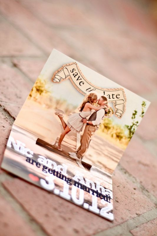Unique ideas for Save the Dates Your Guests Will Love \u2014 Wedpics Blog