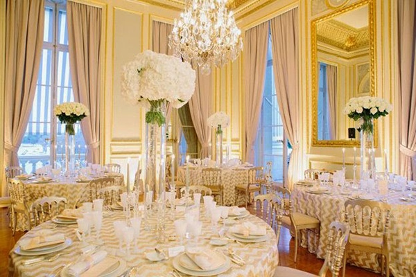Wedding reception seating arrangements Pros and cons for every - wedding reception round tables
