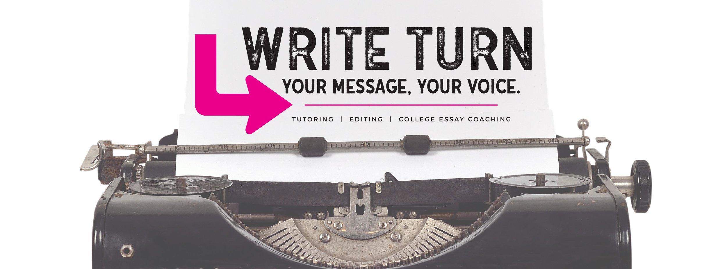 Tutoring and College Essays \u2014 Write Turn