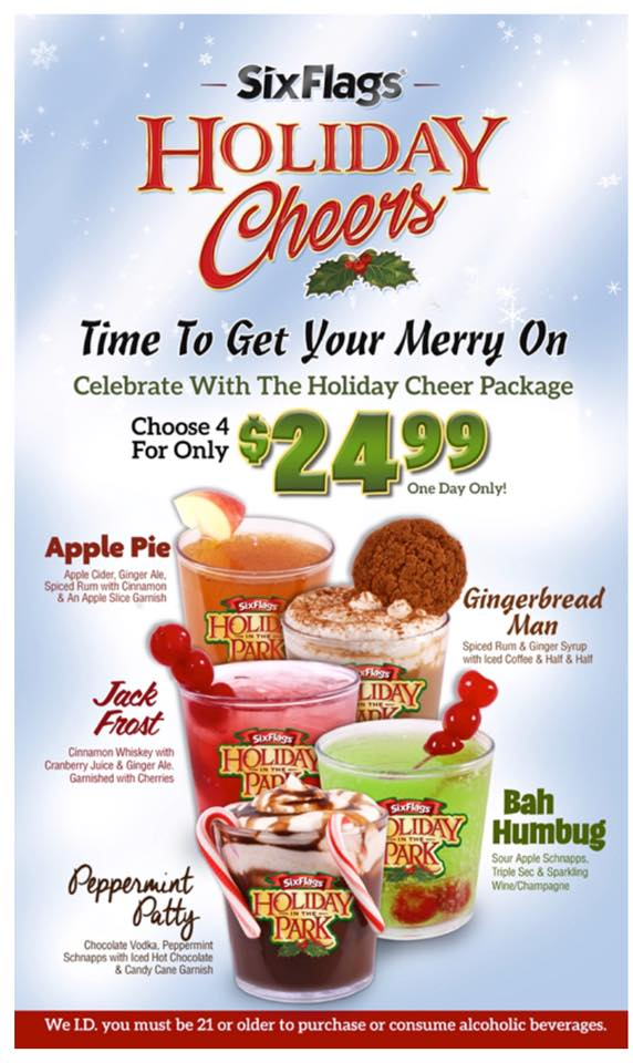 Holiday in the Park Specialty Food  Drink Options \u2014 News  Updates