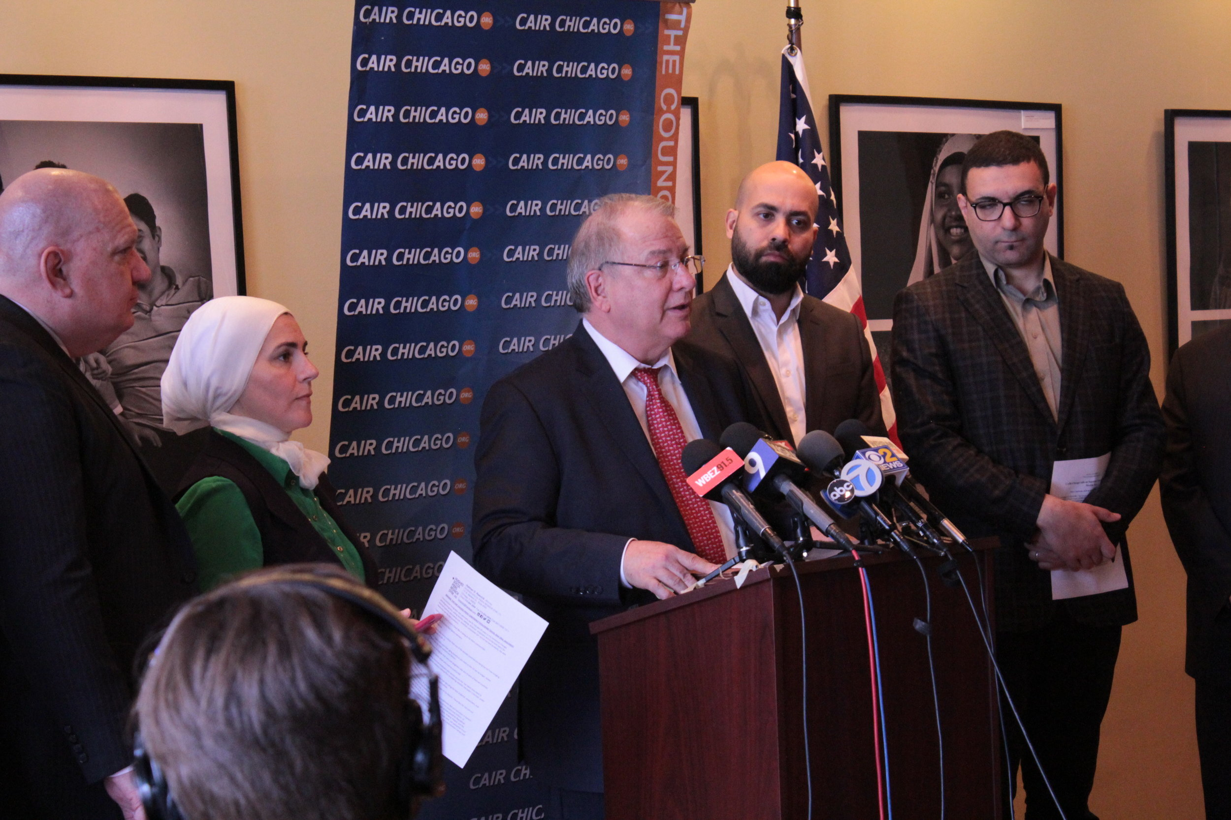CLTV CAIR-Chicago Urges Supreme Court to Strike Down Muslim Ban