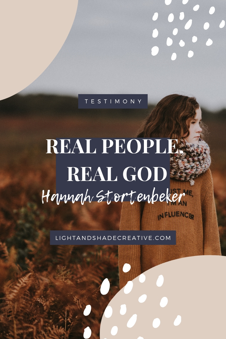 Pictures Of The Real God Real People Real God Hannah Stortenbeker Light Shade