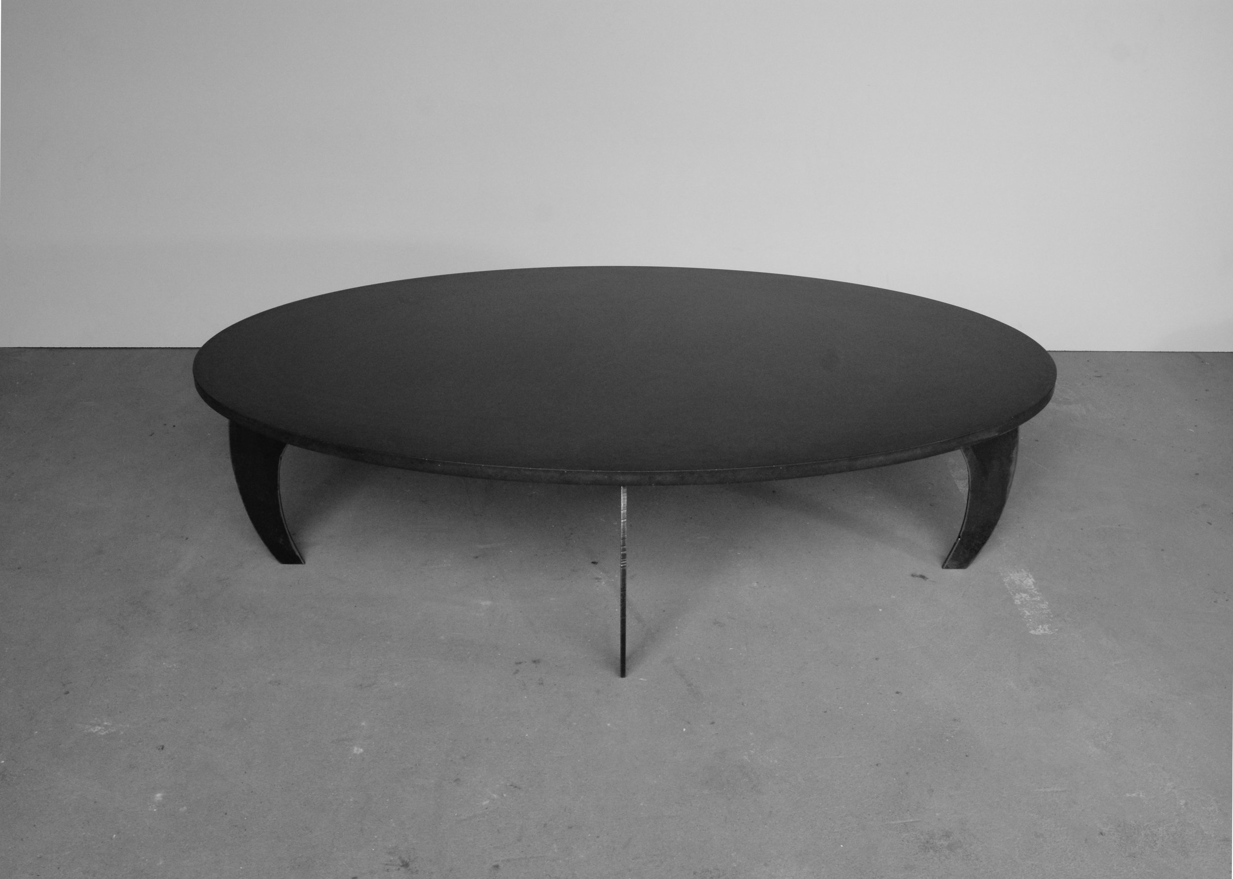 Table Basse En Beton Table Basse BÉton L Ellipse E²