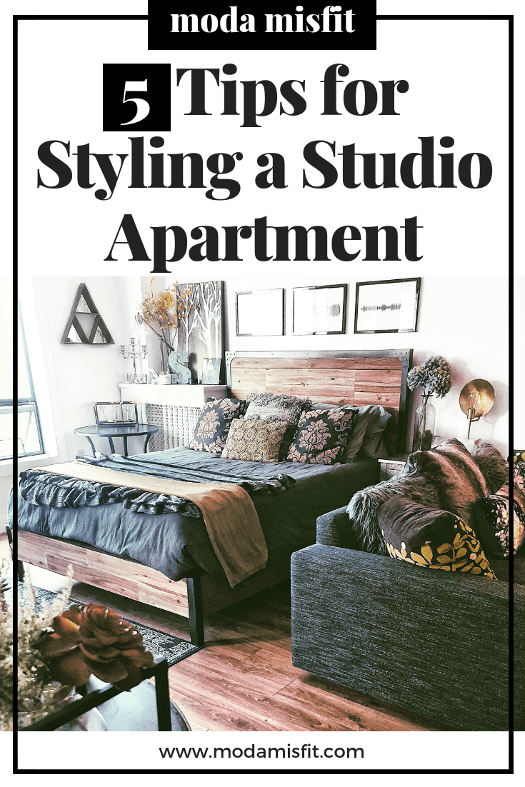 What Are Studio Apartments 5 Tips For Styling A Studio Apartment Moda Misfit