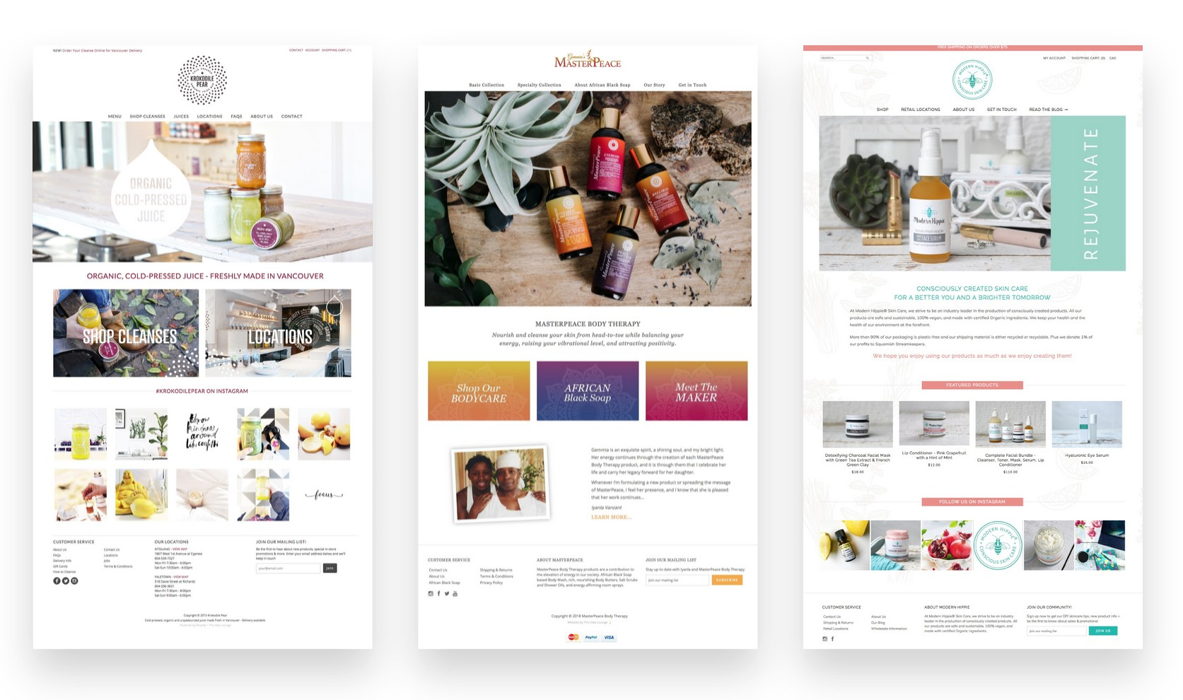 Custom Designed Shopify Websites - The Idea Lounge - Shopify Expert