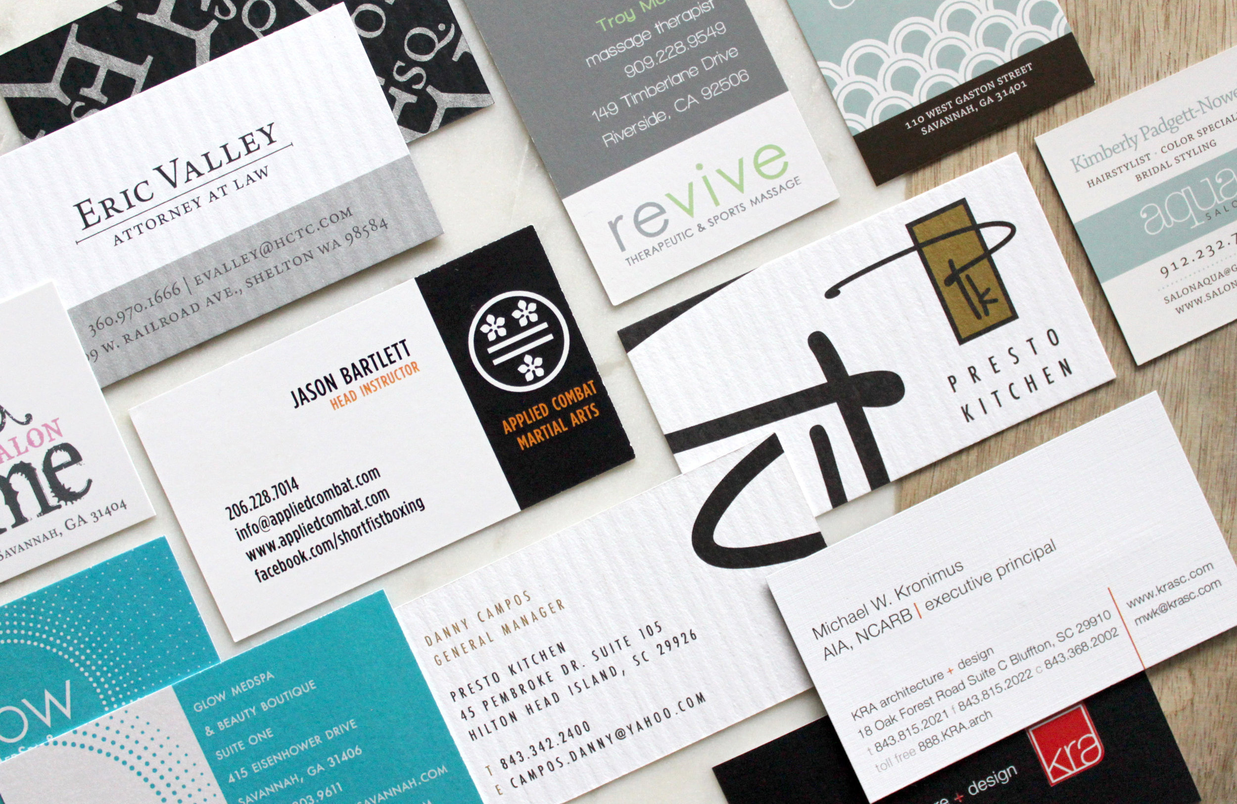 Logos + Business Cards \u2014 Rachel Hill