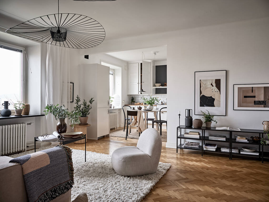 A Charming Scandinavian Apartment With Original Details The Nordroom