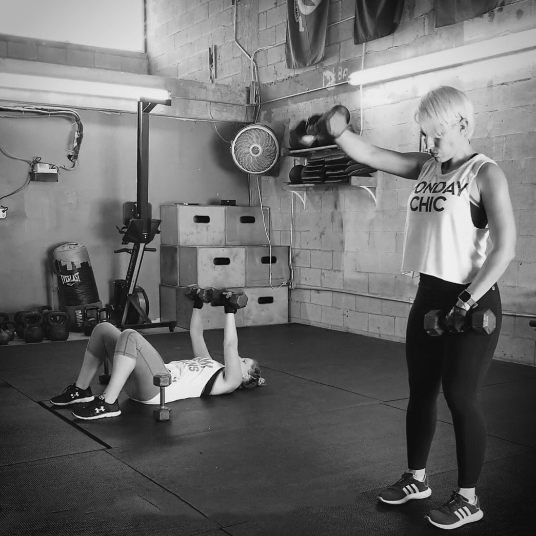 Garage gym exercises home gym checklist equipment crossfit