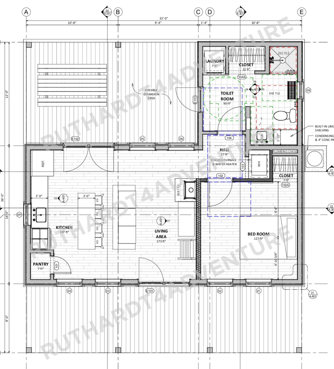 Tiny House With Garage Plans Tiny House Plans 2 Bed Digital Download